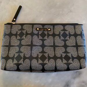 Kate Spade Navy Ace of Spades Cosmetic Bag
